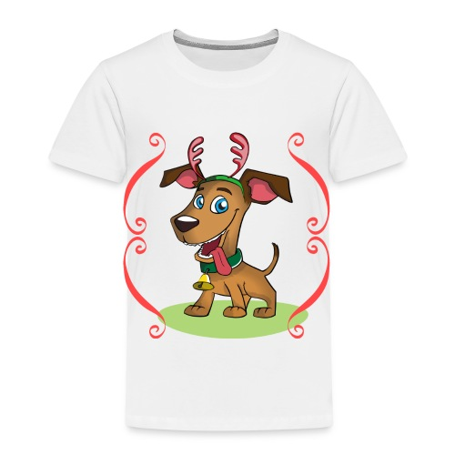 Lilo the Dog - Christmas - Kinder Premium T-Shirt