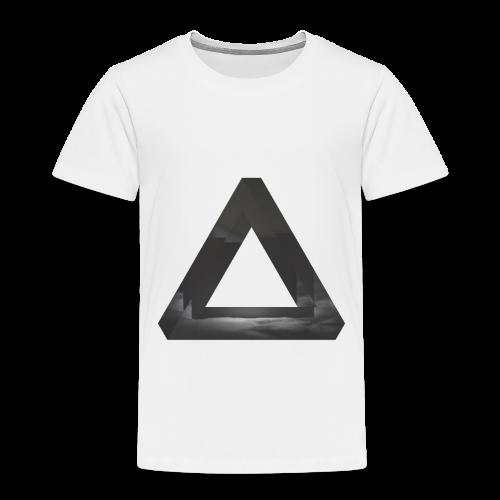 Glitch Dreieck - Kinder Premium T-Shirt
