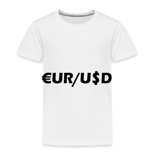 EUR/USD - Kinder Premium T-Shirt