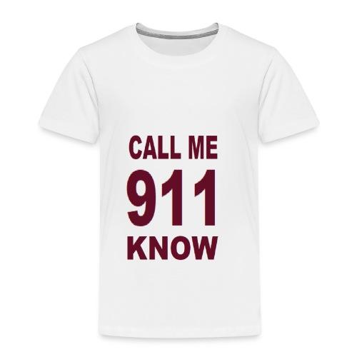 call me - Kinder Premium T-Shirt