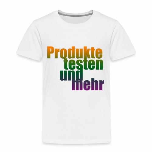 Produkte testen und mehr 1 - Kinder Premium T-Shirt