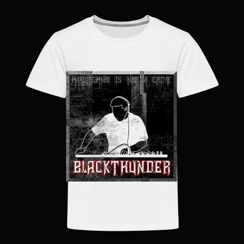 BlackThunder (Hardtechno) Logo - Kinder Premium T-Shirt