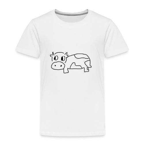 Zeichentrick Kuh - Kinder Premium T-Shirt