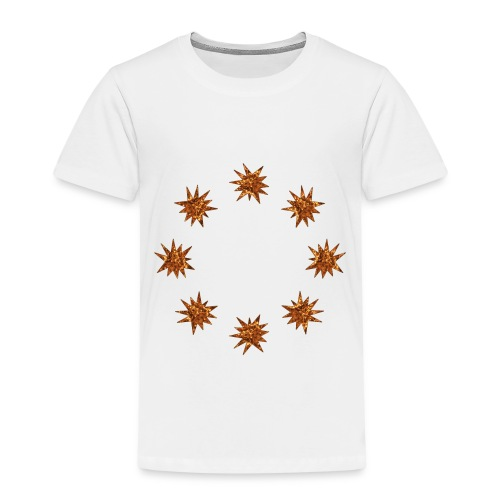 stelle dorate - Maglietta Premium per bambini