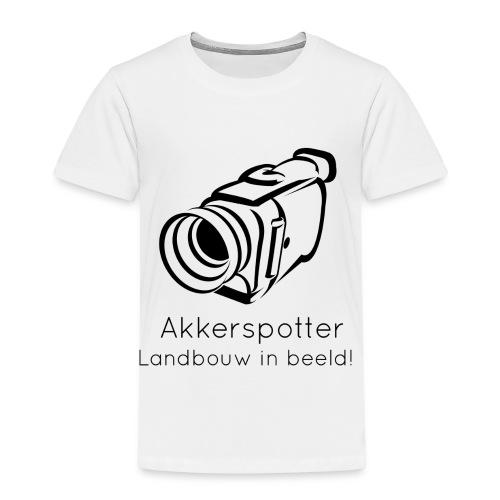 Logo akkerspotter - Kinderen Premium T-shirt