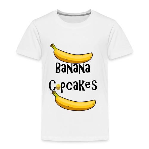 Banana Cupcake - Kids' Premium T-Shirt