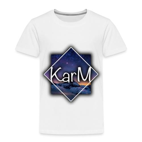 KarM Logo - Premium T-skjorte for barn