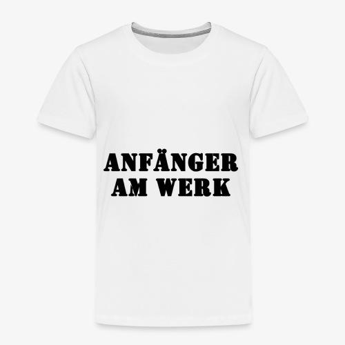 Anfänger am Werk - Kinder Premium T-Shirt