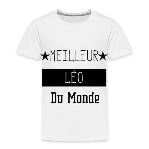 Meilleur Léo du Monde - T-shirt Premium Enfant