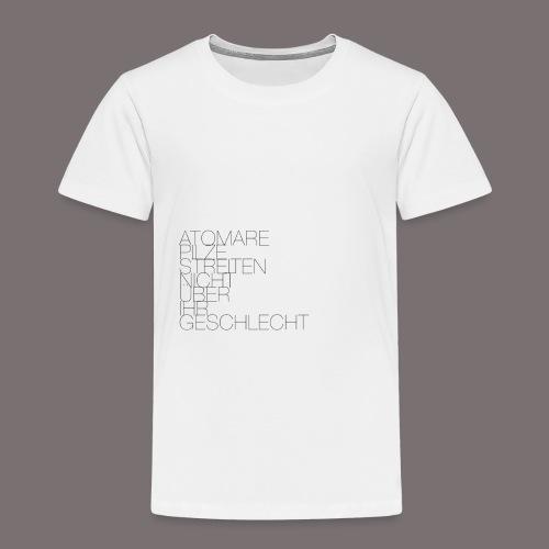 Atomare Pilze streiten nicht über ihr Geschlecht. - Kinder Premium T-Shirt