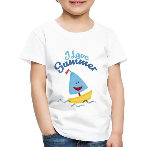 verano barco - Camiseta premium niño