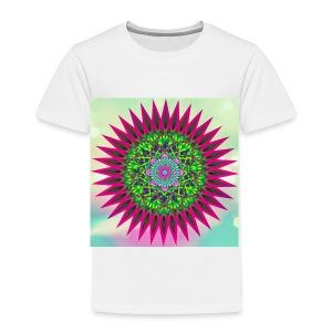 Mandala Flower - Premium T-skjorte for barn