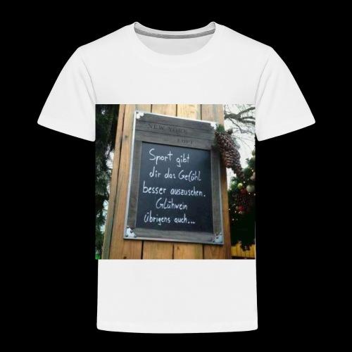 Spruch t-shirt - Kinder Premium T-Shirt