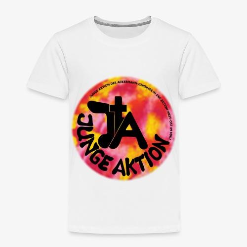 LLENA orange schwarz - Kinder Premium T-Shirt