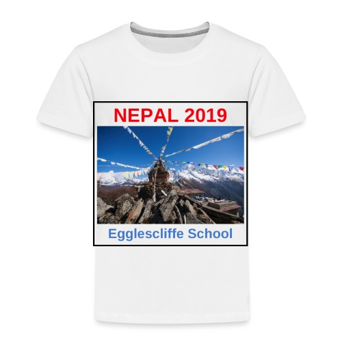 Nepal Egglescliffe School T-shirt Version 1 - Kids' Premium T-Shirt