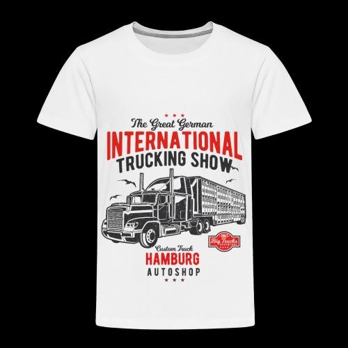 Hamburg Trucking Show - Kinder Premium T-Shirt