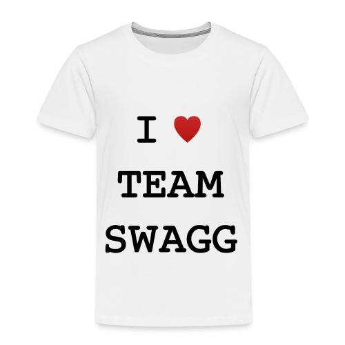 I LOVE TEAMSWAGG - T-shirt Premium Enfant