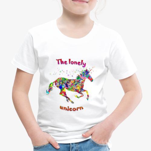 Lonely Unicorn - Kinder Premium T-Shirt