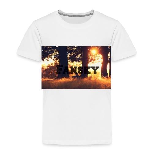 Fansky Black One - Camiseta premium niño