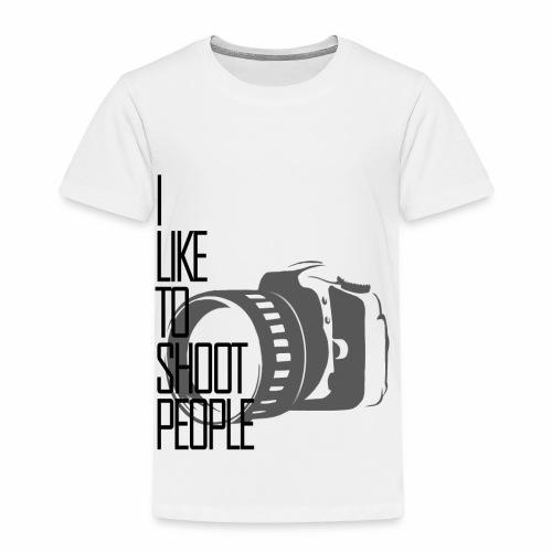 I like to shoot people - Kids' Premium T-Shirt
