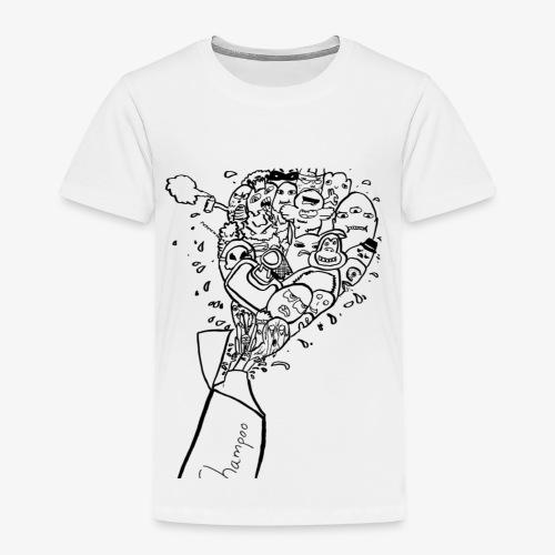 shampoo doodles - Kids' Premium T-Shirt