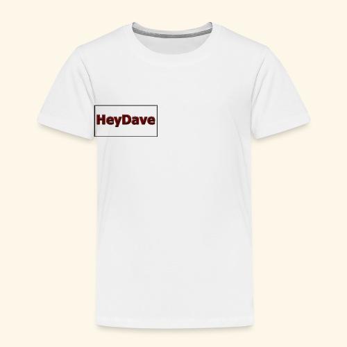 Die Kollektion in weiß! - Kinder Premium T-Shirt