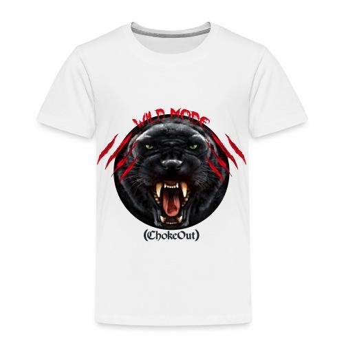 Wild Mode. Bjj, Mma, grappling - Camiseta premium niño