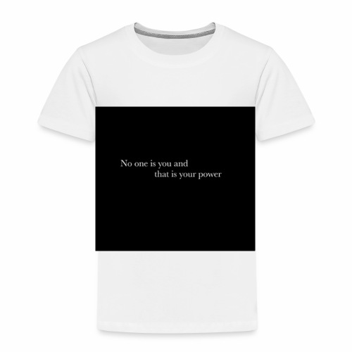 inspirational quote - Kids' Premium T-Shirt