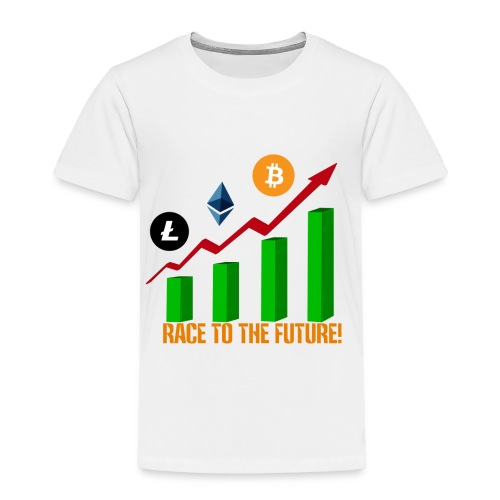 race to the future btc - Camiseta premium niño