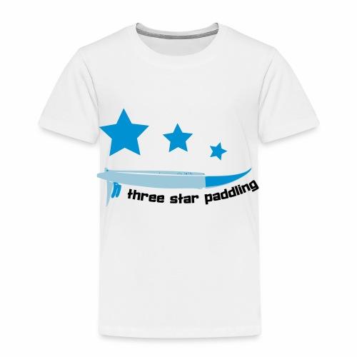 Drei Sterne paddeln Stand Up Paddle See Geschenk - Kinder Premium T-Shirt