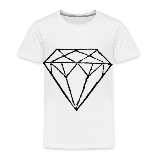 Diamond - Premium-T-shirt barn