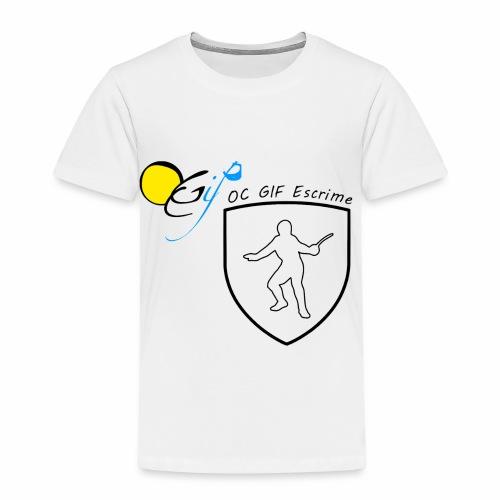 OC Gif Escrime - T-shirt Premium Enfant