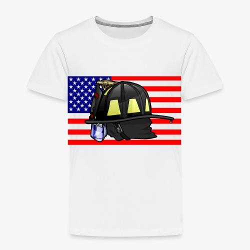 Casque pompier américain - T-shirt Premium Enfant