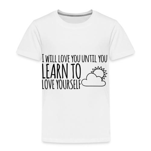 Love yourself - Camiseta premium niño
