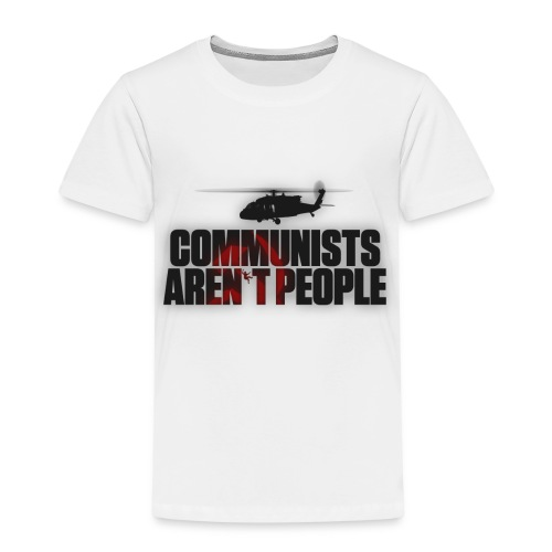 Communists aren't People (No uzalu logo) - Kids' Premium T-Shirt