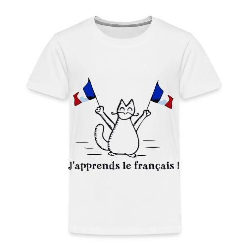 J'apprends le français ! - T-shirt Premium Enfant