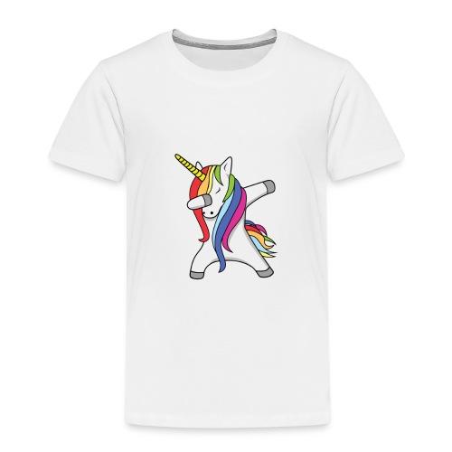 Meisjes Unicorn Dab Spullen - Kinderen Premium T-shirt