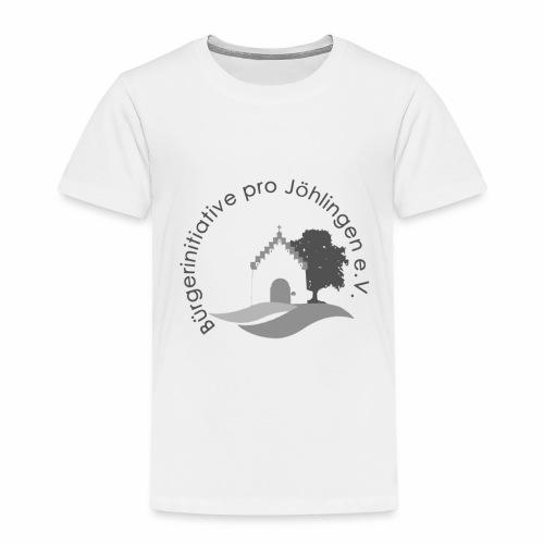 Logo der Bürgerinitiative Pro Jöhlingen e. V. - Kinder Premium T-Shirt