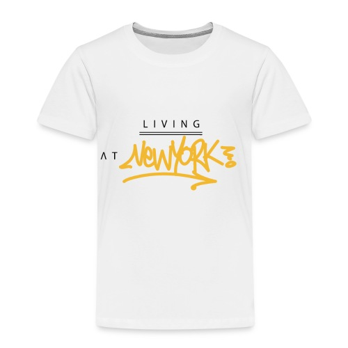 Living @ New-York Street Letters - T-shirt Premium Enfant