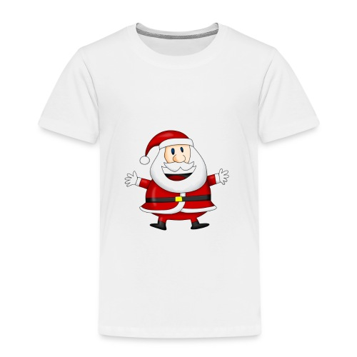 Happy-Santa-1--jpg - Kinderen Premium T-shirt