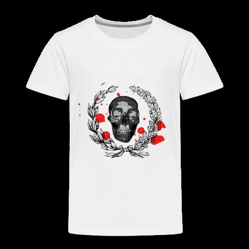 Tête de mort et tâches de sang - T-shirt Premium Enfant