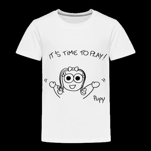 Pupy: time to play! - girl - Maglietta Premium per bambini