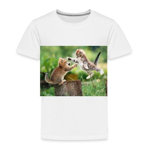 katt 1 - Premium-T-shirt barn