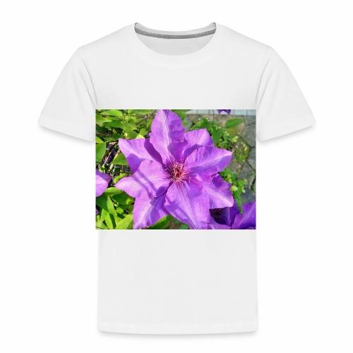 Die klematis - Kinder Premium T-Shirt