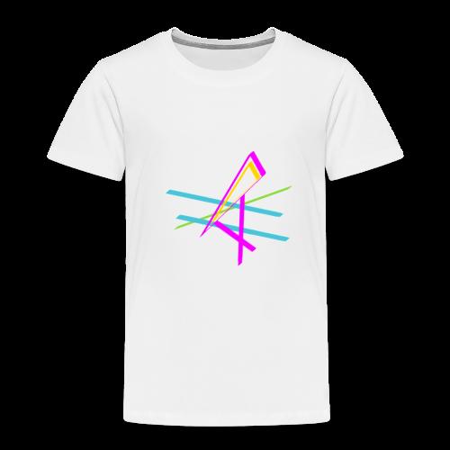 ligne multicolore - T-shirt Premium Enfant