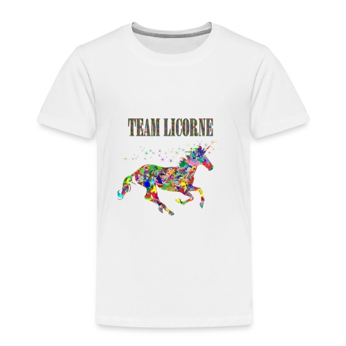 Team Licorne - T-shirt Premium Enfant