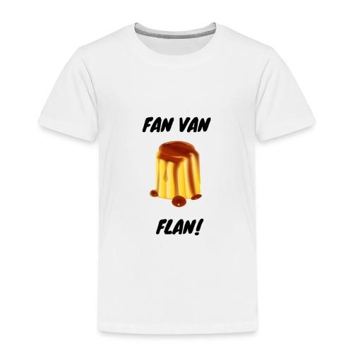 Fan van flan - Kinderen Premium T-shirt
