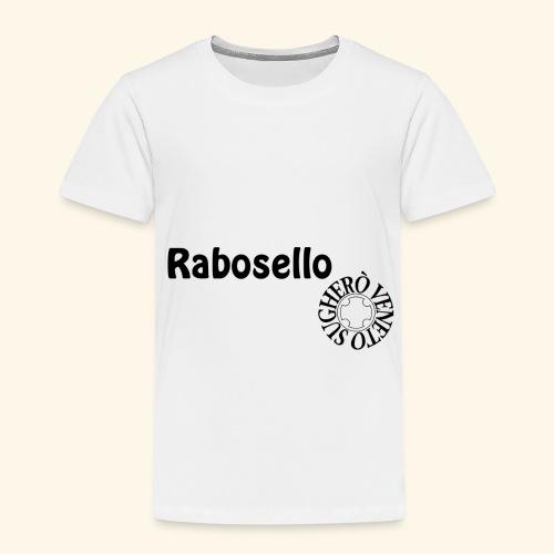 maglia rabosello nera - Maglietta Premium per bambini