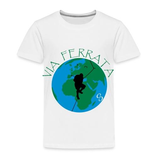 Via Ferrata World - Kinder Premium T-Shirt