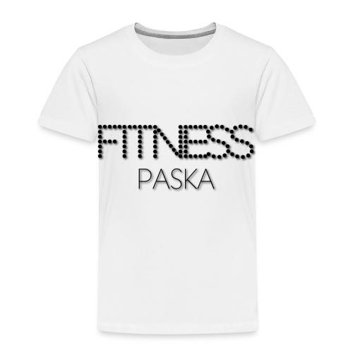 FITNESS PASKA - Lasten premium t-paita